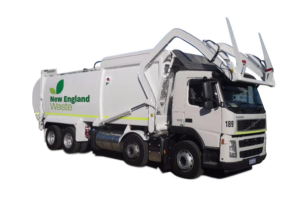 New England Waste Front Fork Truck